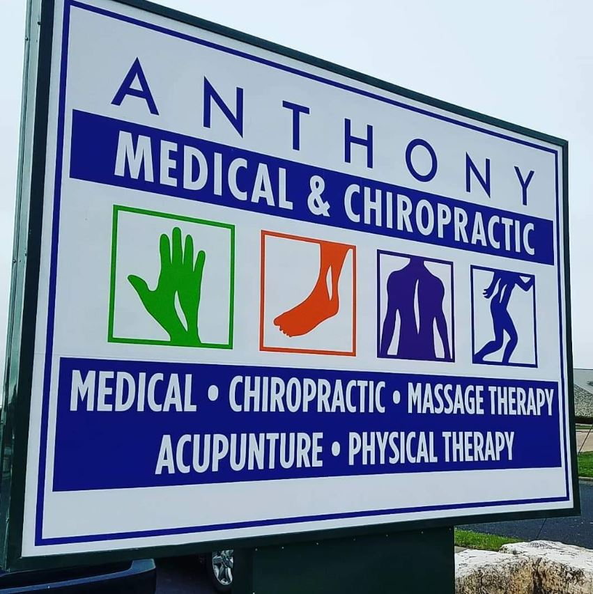 Chiropractic Killeen TX Office Signage