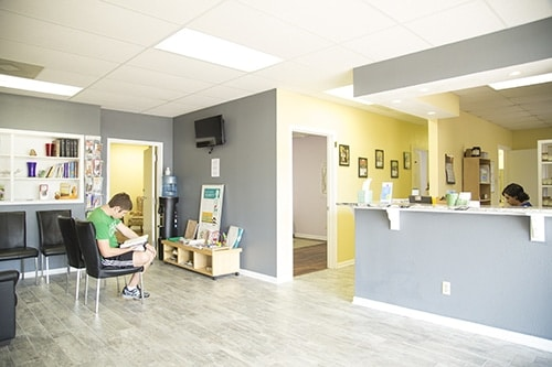 Chiropractic Killeen TX Reception Area