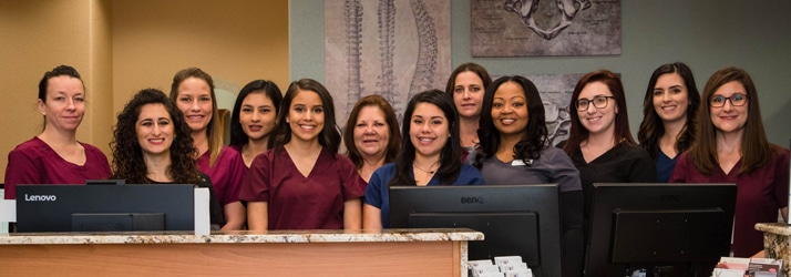 Chiropractic Killeen TX Team at Anthony Medical Chiropractic Center