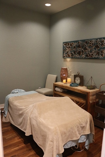 Chiropractic Temple TX Massage Room