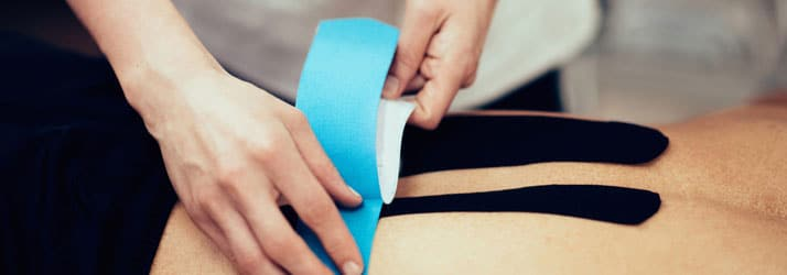 Chiropractic Temple TX kinesiotape